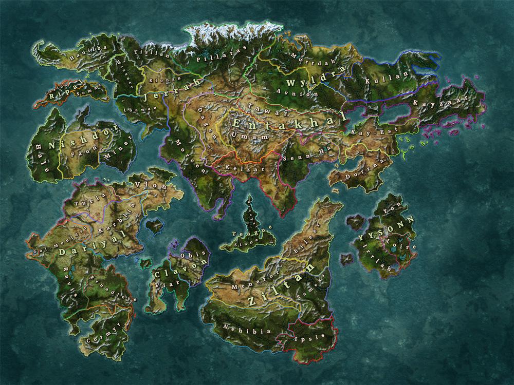 Map of Lo-Hin!